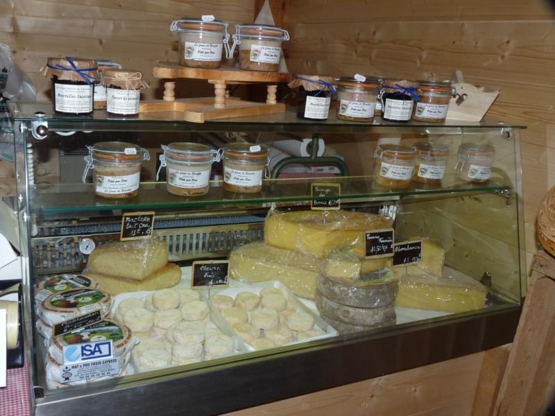 Vitrine de fromages